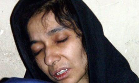 Aafia Siddiqui in Afghan custody