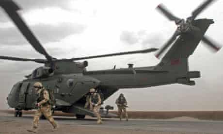 British troops at Basra in Iraq, 2006