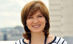 BBC news presenter Fiona Bruce