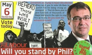 An election leaflet for Phil Woolas