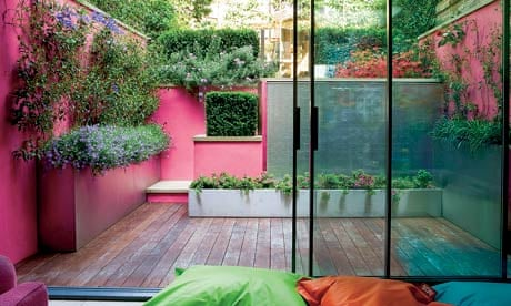 gardens in the pink life and style the guardian