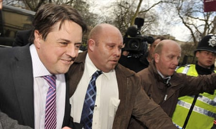Nick Griffin at BNP membership ruling