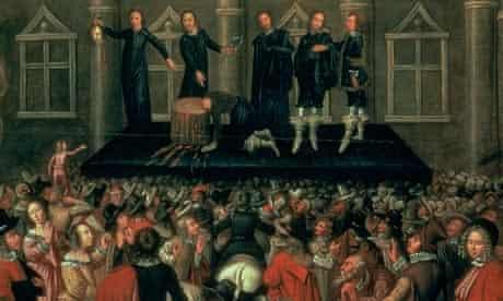 execution king charles