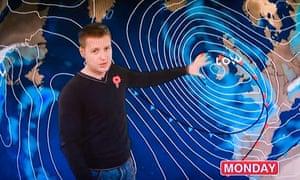 BBC weatherman