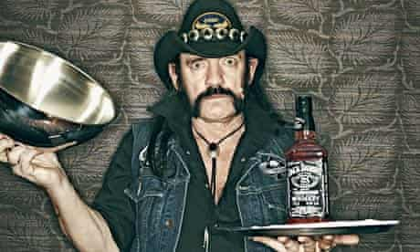 Lemmy photographed at the Sheraton Park Tower