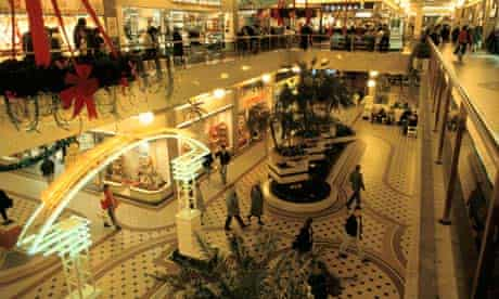 The Arndale shopping centre