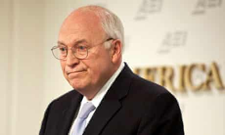 File photo of former US Vice President Cheney speaking in Washington