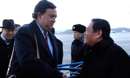 Bill Richardson arrives in North Korean