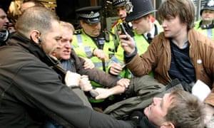 UK Uncut protest at Top Shop, London