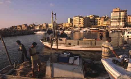 Syrian fishing town Tartous
