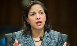 Susan Rice, the US ambassador to the UN