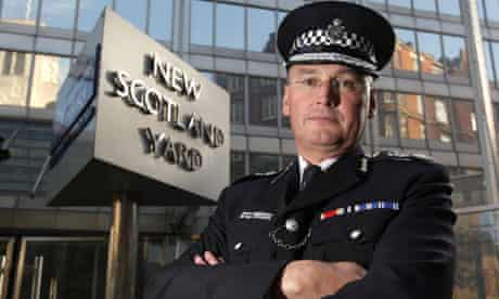 Metropolitan Police commissioner Sir Paul Stephenson