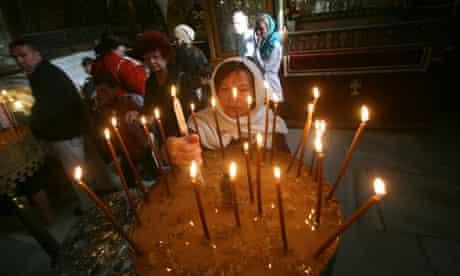 Christians in Bethlehem