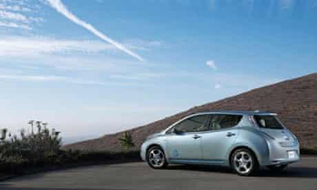 nissan leaf electric car grant scheme