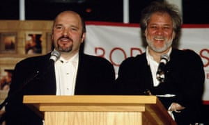 Anthony Minghella and Michael Ondaatje