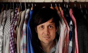 Patrick Barkham and his wardrobe