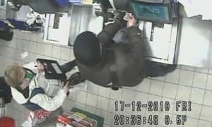 CCTV image of Joanna Yeates buying pizza