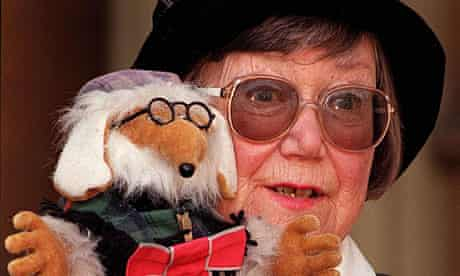 Wombles inventor Elisabeth Beresford, pictured in 1998, who has died at the age of 84.