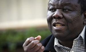 Zimbabwe opposition leader Morgan Tsvangirai