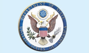 WikiLeaks US Department of State logo