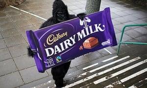 Cadburys Staff before takeover