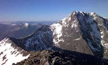 Ben Nevis and the Carn Mor Dearg arete