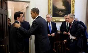 Barack Obama Eric Cantor