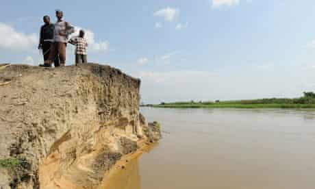 River Semliki between Congo and Uganda
