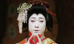 Japenese kabuki star Ebizo Ichikawa XI