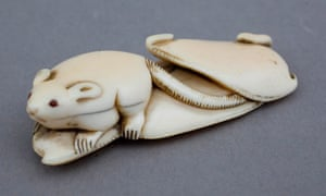 netsuke belonging to ceramicist Edmund de Waal