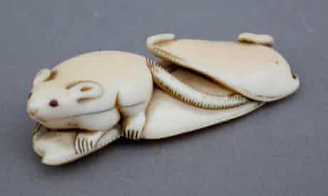 netsuke belonging to ceramicist Edmund de Waal