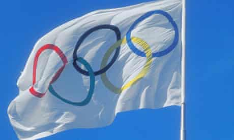The Official Olympic Flag