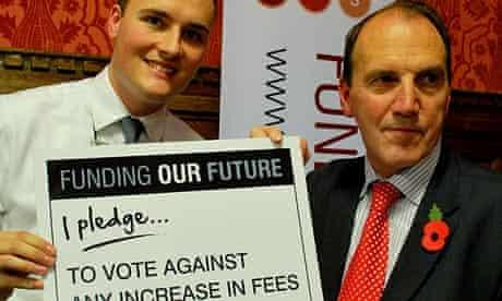 Simon Hughes makes a pledge