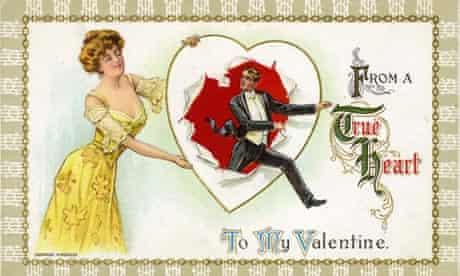 Valentine Postcard By H Wessler