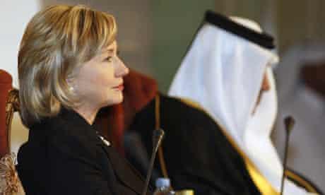 Hillary Clinton in Doha