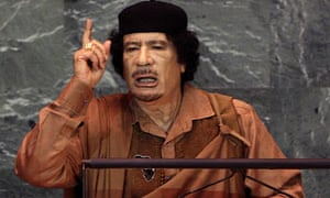Gaddafi at the UN General Assembly