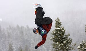 Shaun White at the Winter Dew Tour in 2008