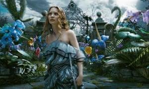 Film still from Alice in Wonderland (2010)