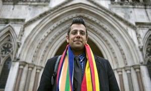 Simon Singh at the high court, London 23 February 2010