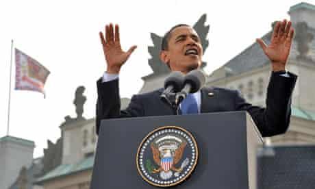 US President Barack Obama delivers a spe