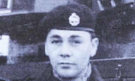 Corporal James Johnson Royal Tank Regiment