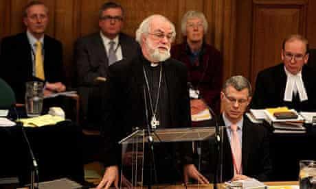 Rowan Williams at the General Synod