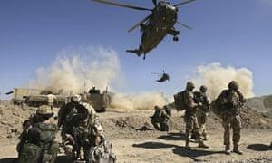 British soldiers, Helmand 2008