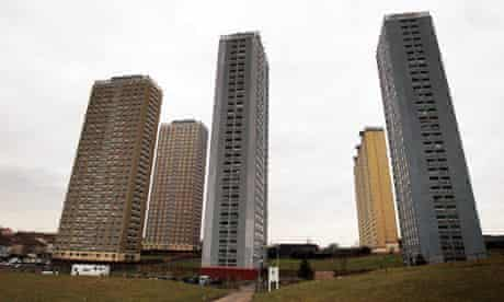 The Red Road high-rise flats
