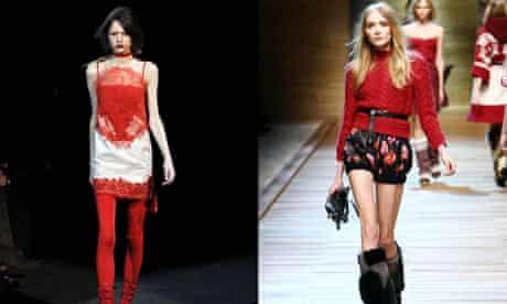Dolce and Gabbana Show Autumn Winter 2010, Milan Fashion Week, Milan, Italy - 25 Feb 2010