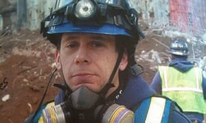 Glen Klein, a police officer and part of the clean-up effort at Ground Zero.