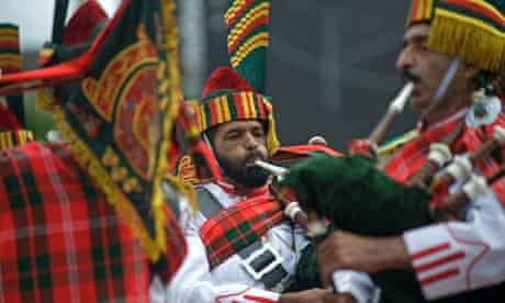 The Patiala Pipe Band
