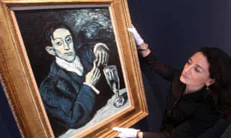 Portrait of Angel Fernandez de Soto by Pablo Picasso
