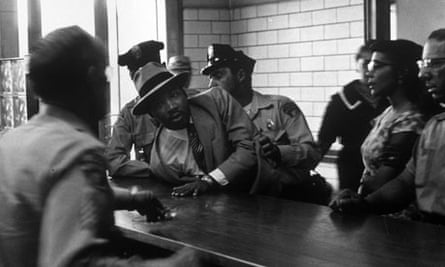 The arrest of Martin Kuther King