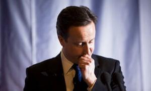 David Cameron, February 2010